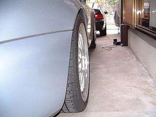Porsche-リアタイヤ