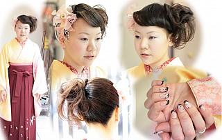 卒業式の髪型